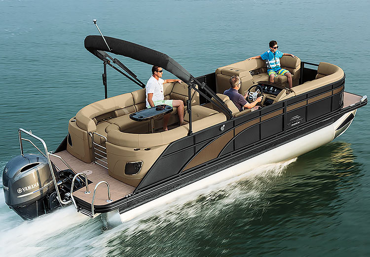 Purchase a new pontoon boat from your local boat dealer in NJ or MD