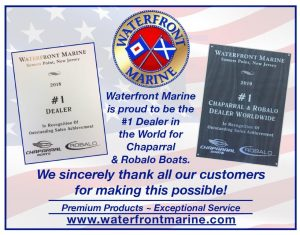 waterfront marine award flyer